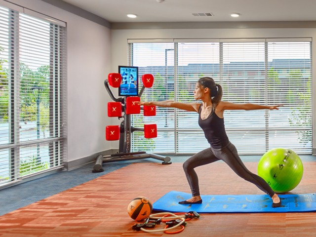 On-Demand Yoga Studio