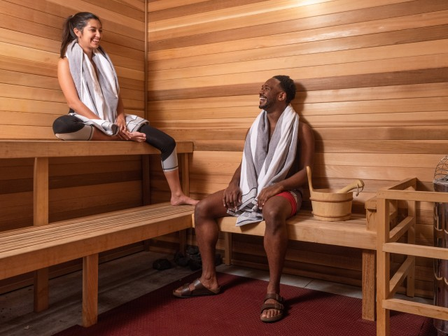 Relaxing Sauna