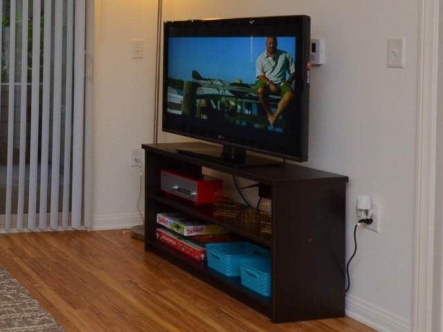 Large flat-panel TV