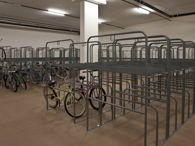 Spacious Bike Storage