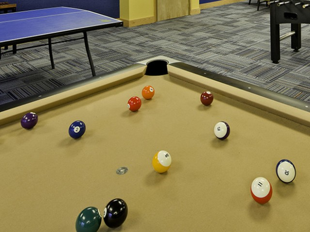 Resident Billiards Table