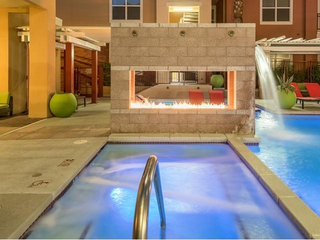Resident Hot Tub