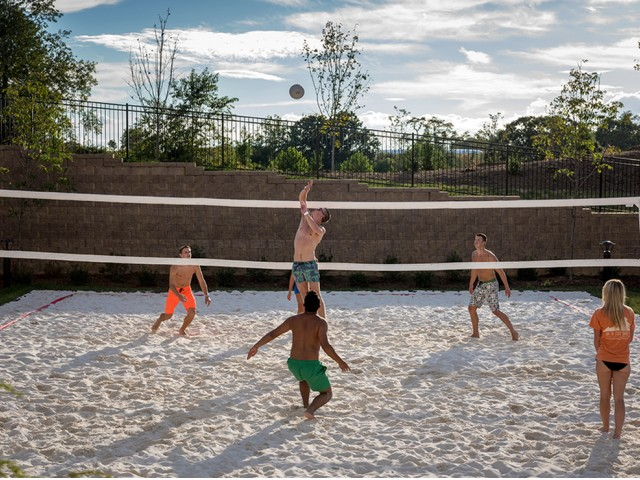 Onsite Sand Volleyball Court
