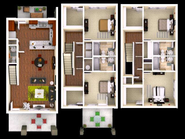 Lumpkin 4 Bedroom 4.5 Bathroom