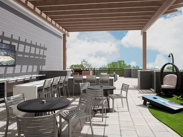 Rooftop Terrace lounge