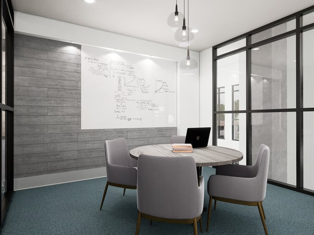 private conference/study room