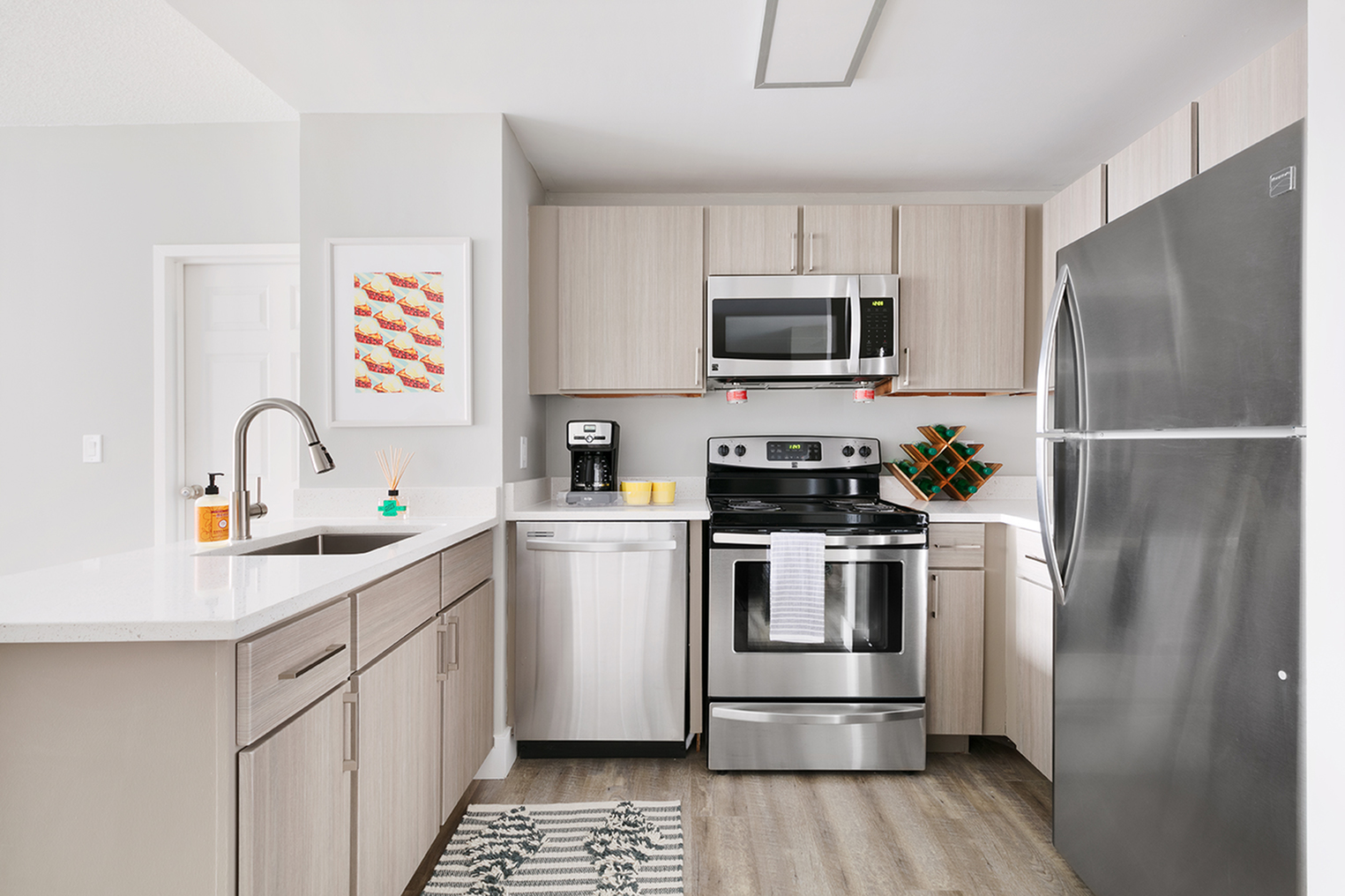 modern kitchens and appliances