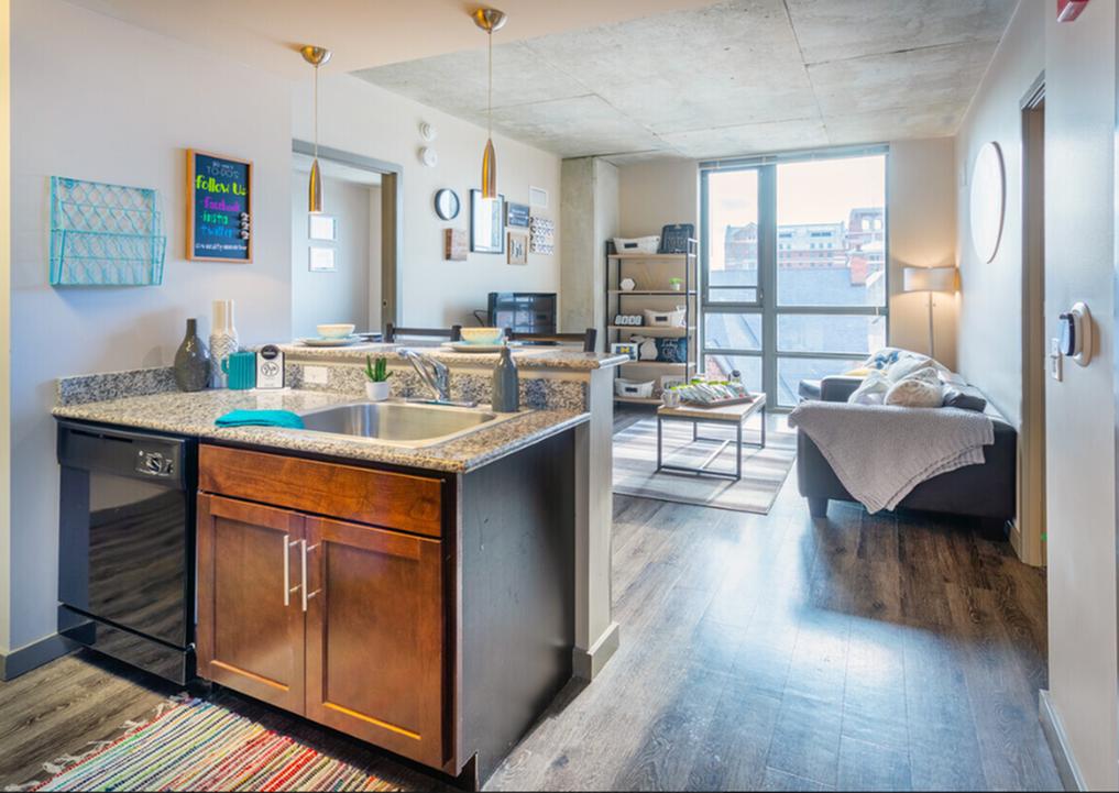 hardwood floors in units