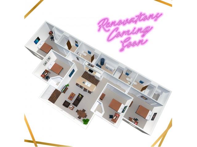 4 Bedroom / 4 Bathroom - Renovations Coming Soon