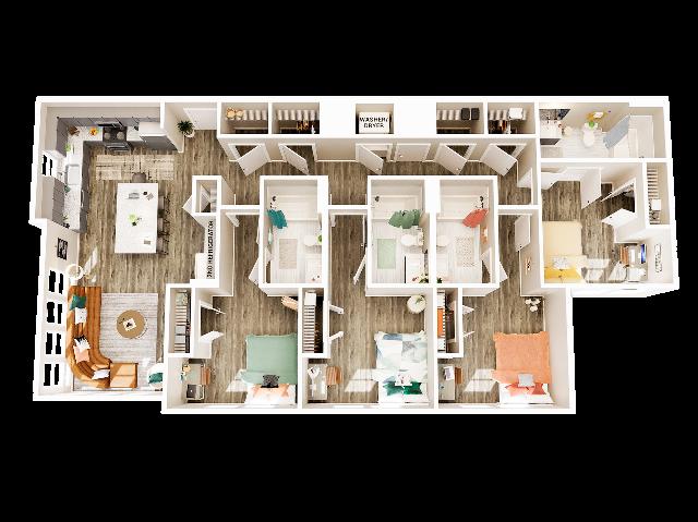 4 Bedroom 4 Bathroom D3