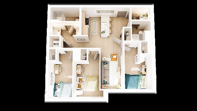 3 Bedroom 2 Bathroom C9