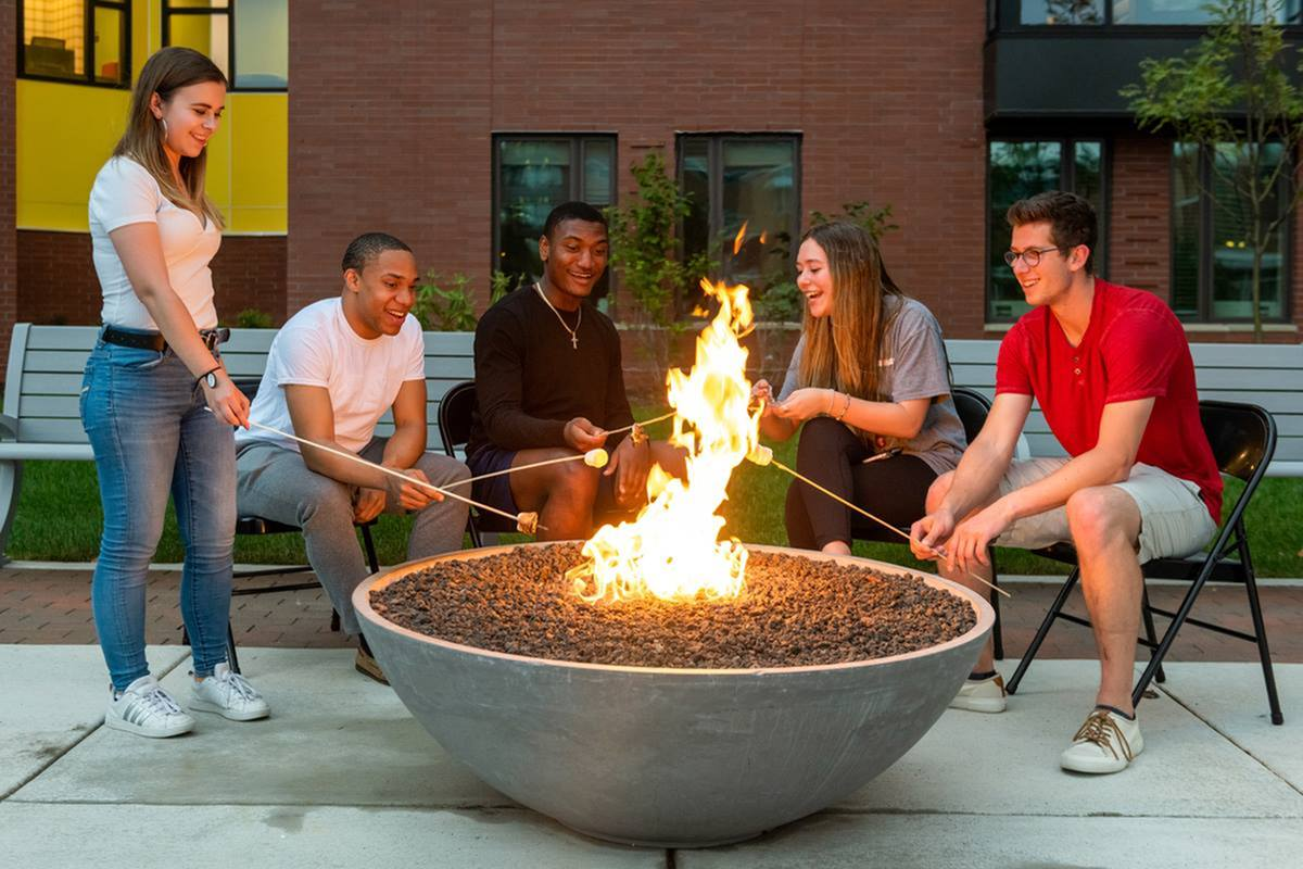 Image of Fire Pit for Southside Commons (new)
