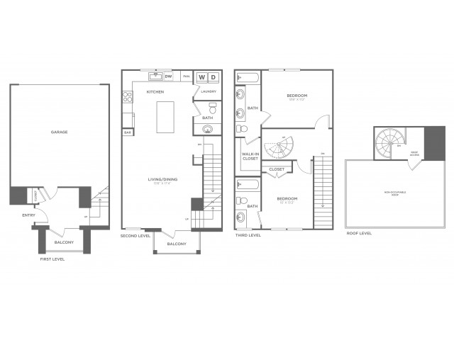The Sterling | 2 bed 3 bath | from 1269 square feet