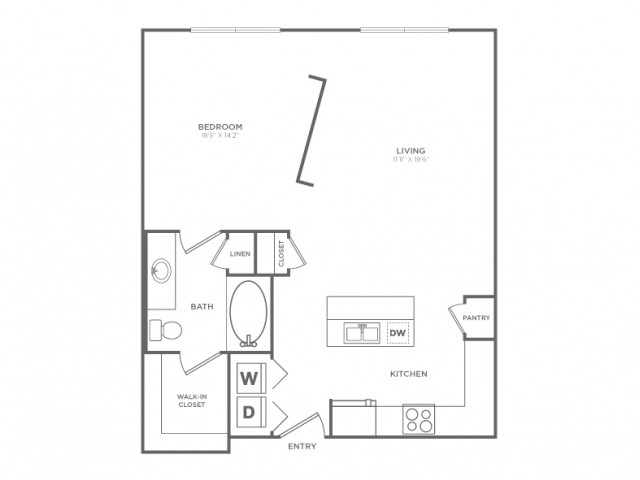Spacious Floor Plans | Apartments In Knox Henderson | Fitzhugh Urban Flats
