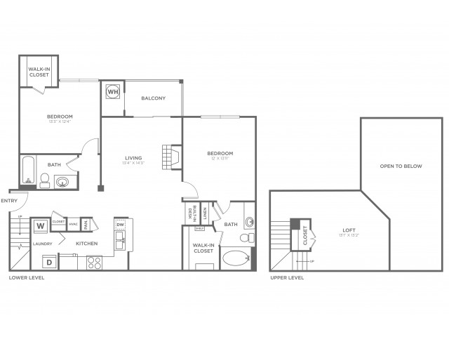 B3.1 | 2 bed 2 bath | from 1366 square feet