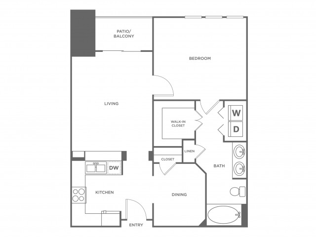 Breckenridge | 1 bed 1 bath | from 866 square feet
