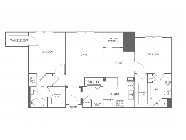 Ouray | 2 bed 2 bath | from 1231 square feet