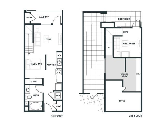S4L | Studio1 bath | from 680 square feet