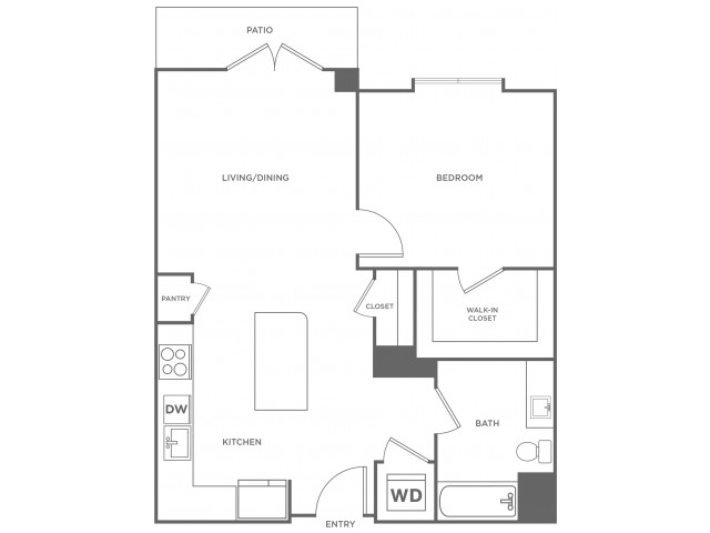 Beech West | 1 bed 1 bath | from 760 square feet