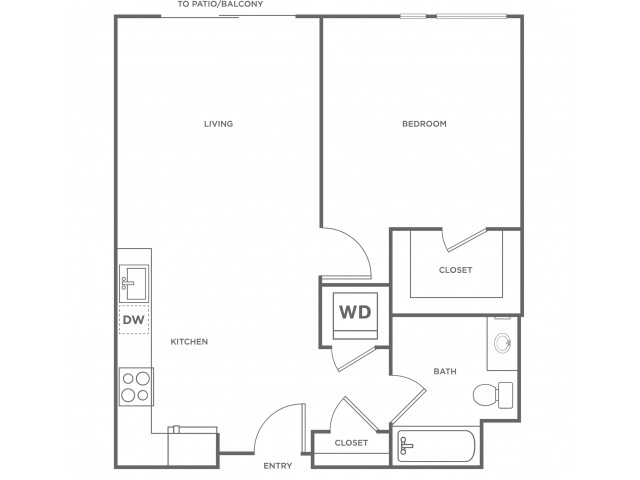 1g | 1 bed 1 bath | from 729 square feet