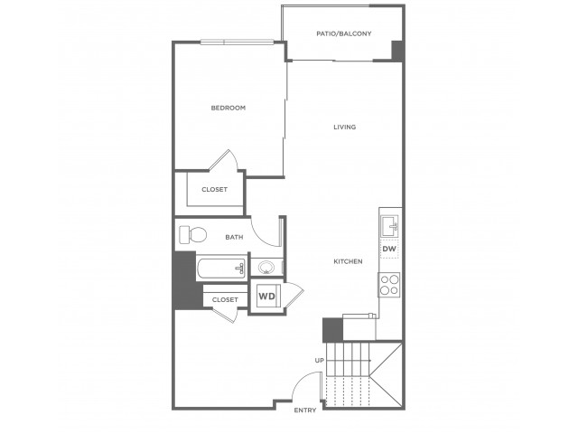 2l1 | 2 bed 2 bath | from 1152 square feet