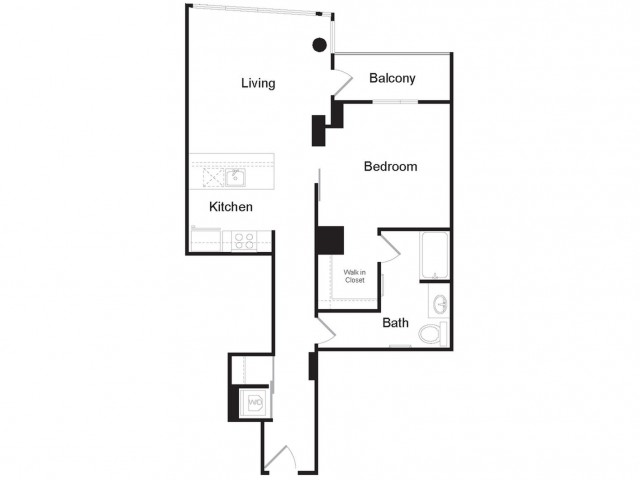 A3 | 1 bed 1 bath | from 835 square feet