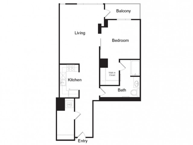 A4 | 1 bed 1 bath | from 900 square feet