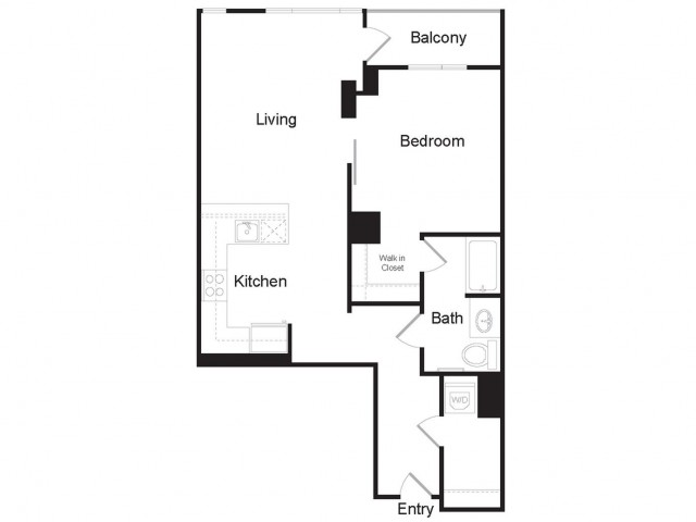 A5 | 1 bed 1 bath | from 902 square feet