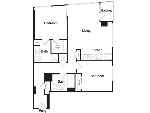 B4 | 2 bed 2 bath | from 1141 square feet