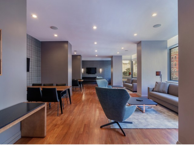 800 Sixth Apartments Resident Clubroom  Lounge