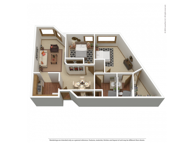 B7 | 2 bed 2 bath | from 1138 square feet