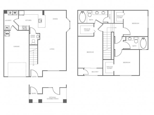C1 | 3 bed 3 bath | from 1379 square feet