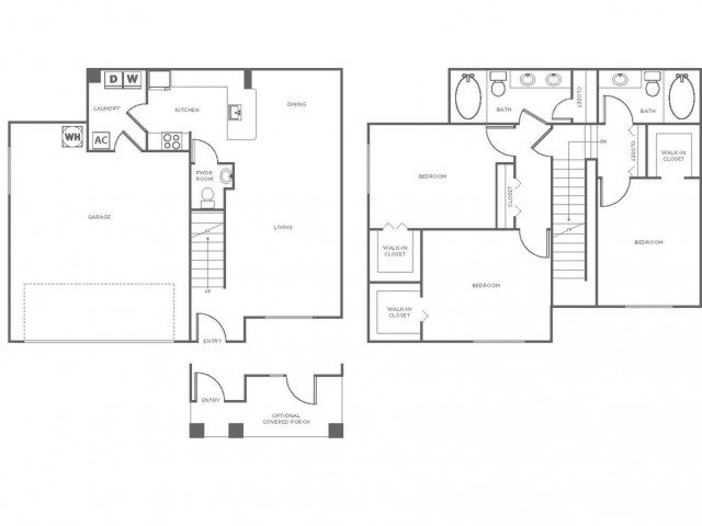 C2R | 3 bed 3 bath | from 1461 square feet