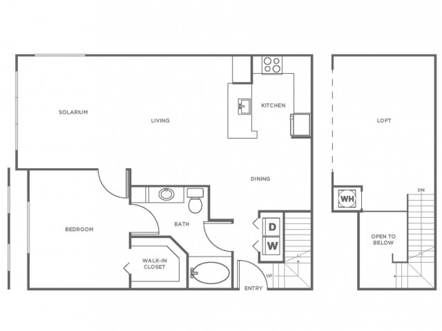 A4R | 1 bed 1 bath | from 1173 square feet