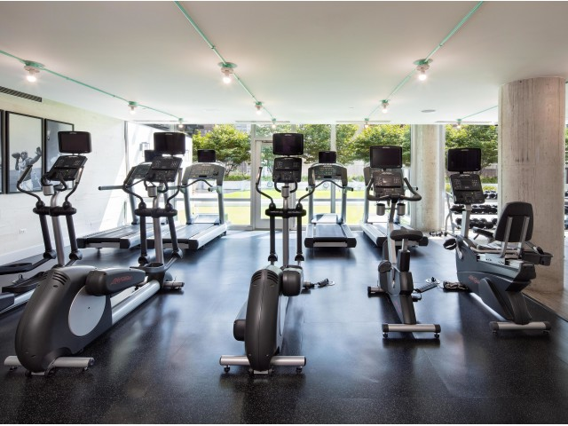 Image of Fitness Center – 24-hour access to our state-of-the-art cardio and free weight fitness center. for 1401 S. State
