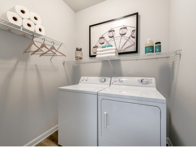 Image of Washer/dryer-Full-size washer and dryer in every apartment home for Ashton at Dulles Corner