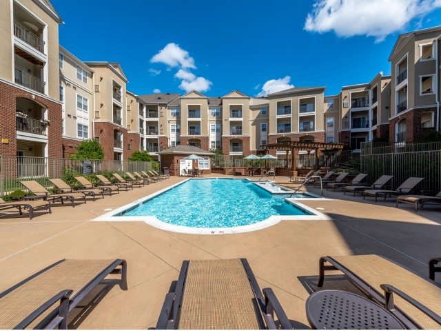 Image of Outdoor Swimming Pools – Spend the weekend sunning by the glistening pool with family and friends. for Ashton at Dulles Corner