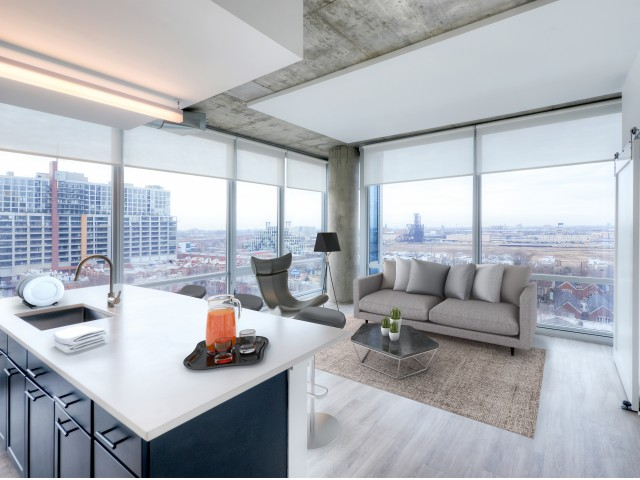 Image of Spectacular panoramic and scenic lake views* –  Spectacular panoramic views Chicago and scenic Lake Michigan from inside your cozy apartment. for 1401 S. State