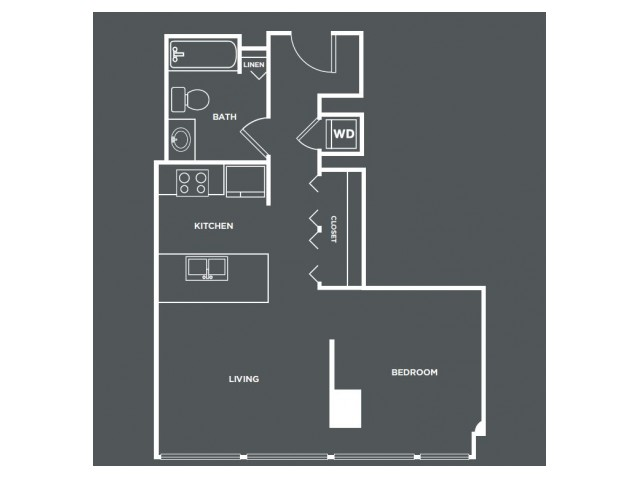 S3 | Studio1 bath | from 614 square feet