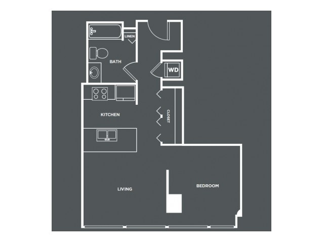 S1 | Studio1 bath | from 520 square feet