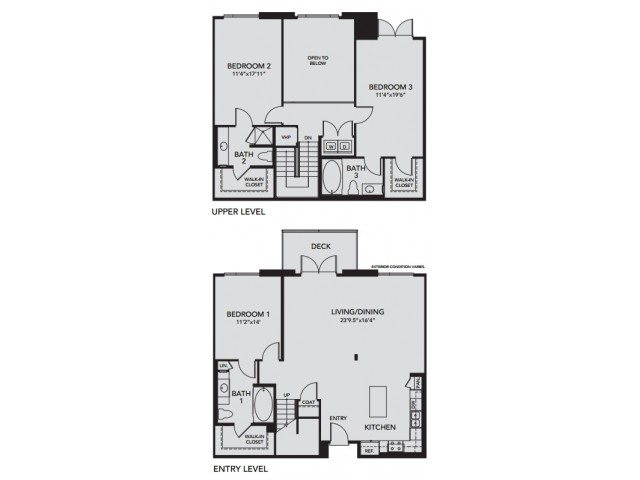 Plan C2 | 3 bed 3 bath | from 1984 square feet