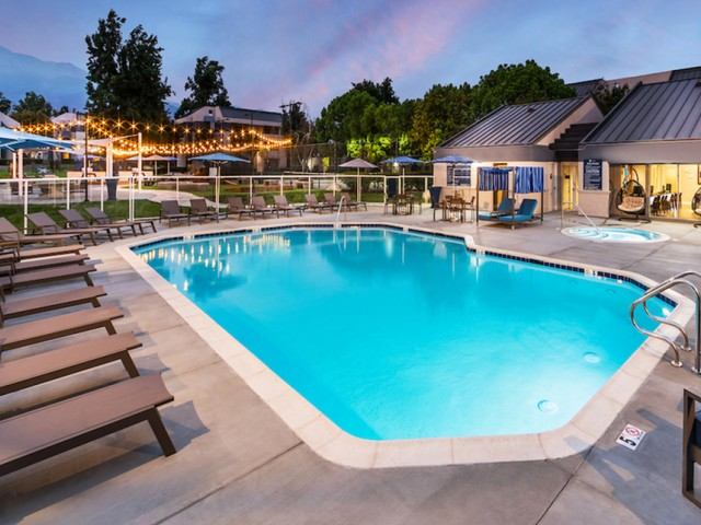 Image of 4 sparkling swimming pools for Avana Rancho Cucamonga
