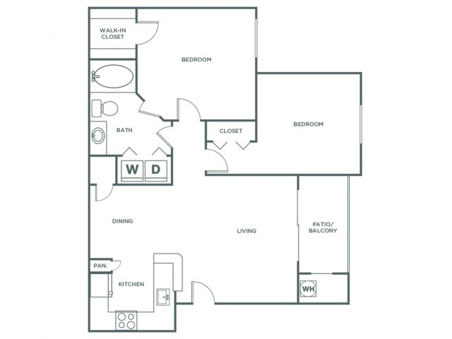 Starling Renovated | 2 bed 1 bath | from 922 square feet