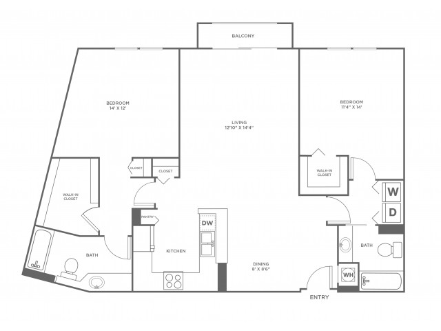 Sand | 2 bed 2 bath | from 1246 square feet