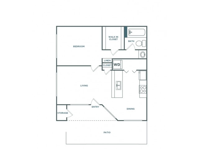 1x1 710 | 1 bed 1 bath | from 710 square feet