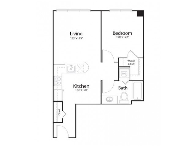 1i1 | 2 bed 2 bath | from 636 square feet