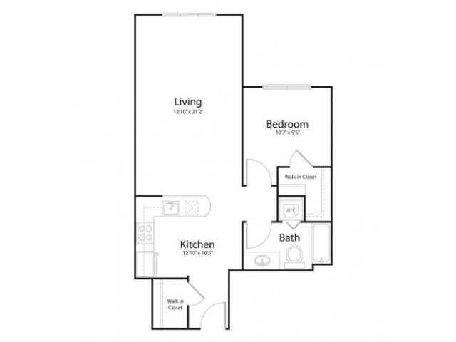 1t1 | 1 bed 1 bath | from 685 square feet