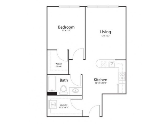 1y1 | 1 bed 1 bath | from 721 square feet