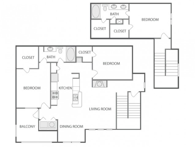 D6T | 3 bed 2 bath | from 1575 square feet