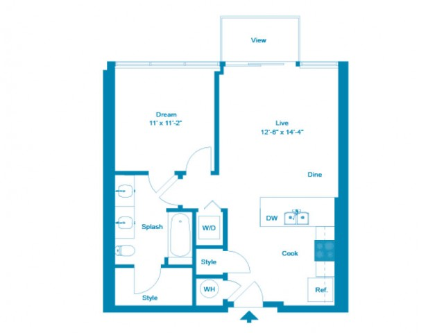 Celeste | 1 bed 1 bath | from 662 square feet